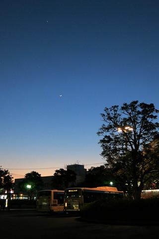 金星・木星・月