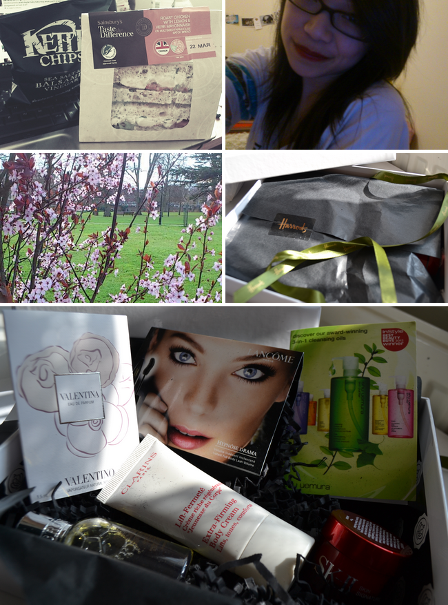 daisybutter - UK Style Blog: week in photos, food blog, cherry blossom, glossybox march 12