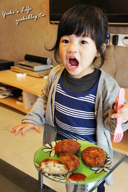 [‧我在大陸的生活‧]❤Yuki大廚上好菜❤IV「蔥抓餅」「可樂餅」「炸豬排」「台式總匯煎餅」