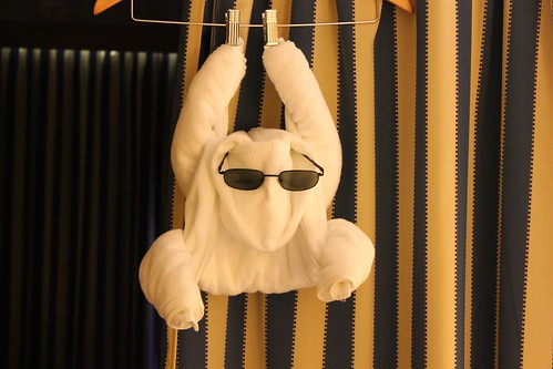 Towel Sculpture - Disney Fantasy
