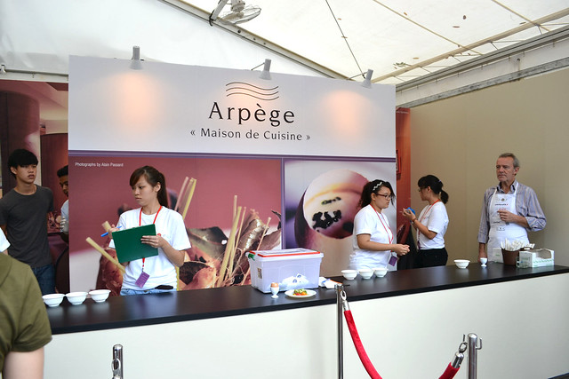 L'Arpege at Savour 2012