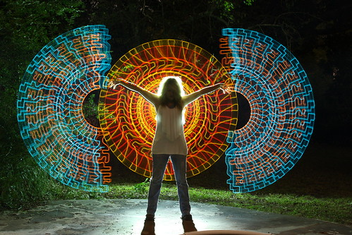 EL Wire (Electroluminescent Wire) | Light Painting Community | Flickr
