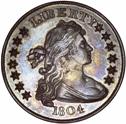 1804 Idler Bebee dollar