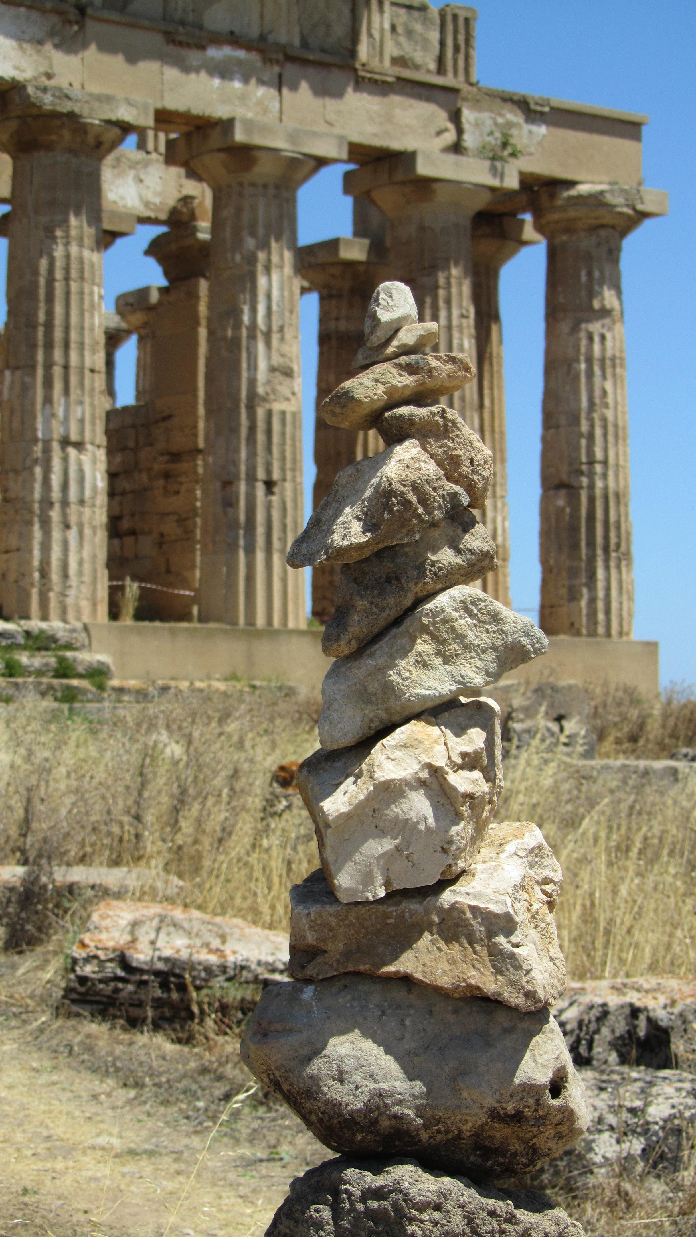 le cairn 1.5 de Sélinonte (Sicilia)