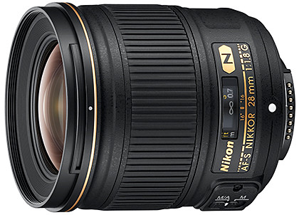 The new Nikon AF-S NIKKOR 28mm f/1.8G promises sharp focus and pleasing bokeh.