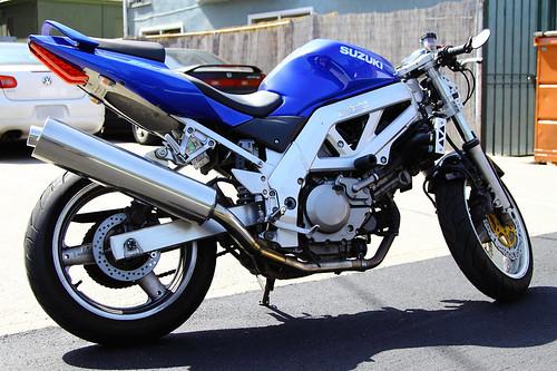 Stolen Motorcycle Venice Beach