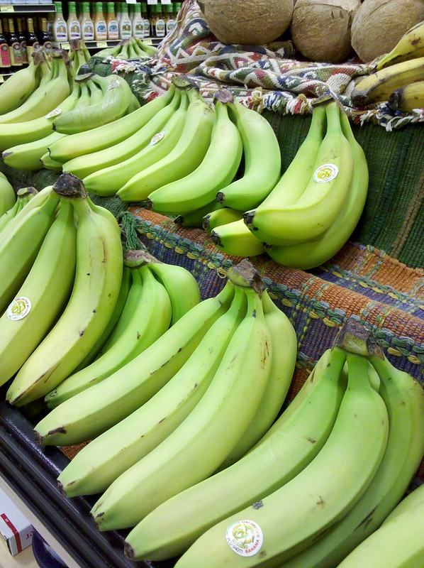 Co-Op Green Bananas