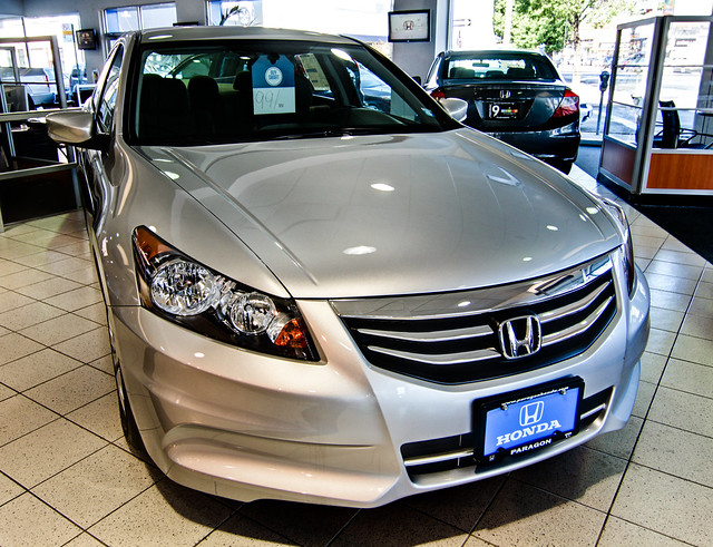 Honda accord at paragon honda in queens ny flickr for Paragon honda northern blvd