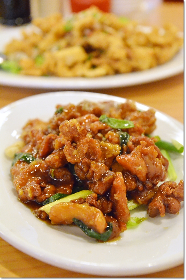 Stir Fried Pork Belly in Superior Soy Sauce