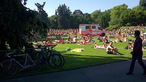 歐洲的夏季越來越炎熱潮濕。(照片:Arun Katiyar。)