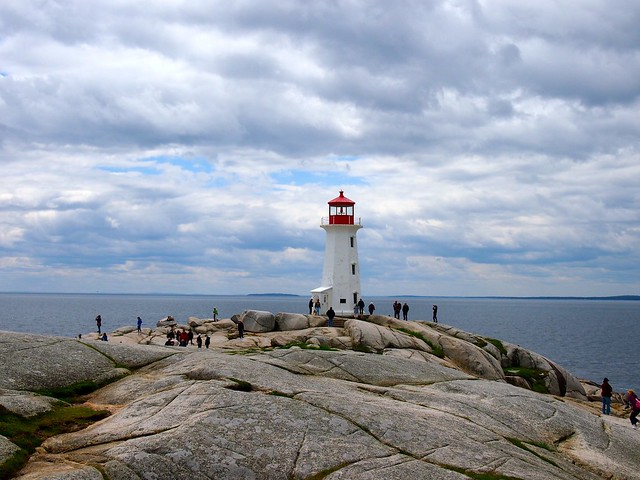 Peggys Point Lighthouse, Nova Scotia
