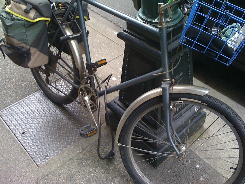 Bicycle non-locking in Victoria