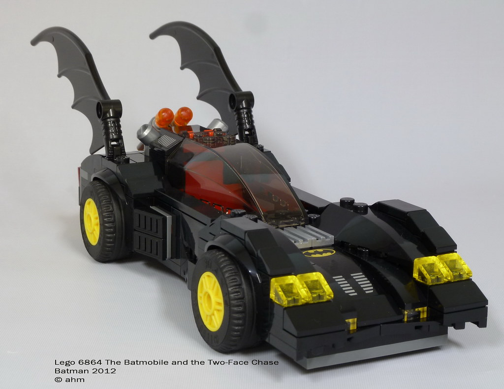 lego 6864 the batmobile and the two face chase a photo on flickriver. Black Bedroom Furniture Sets. Home Design Ideas