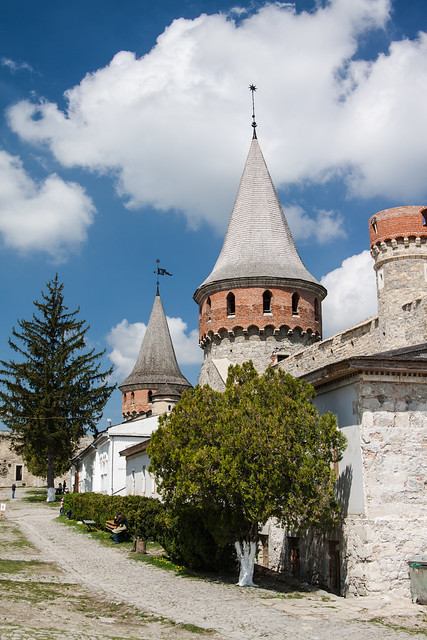 The Castle of Kamianets