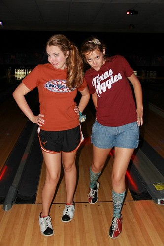 Bowling after Prom