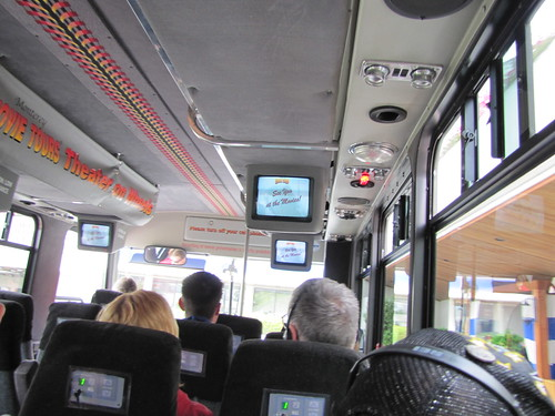Inside the Movie Tour Bus