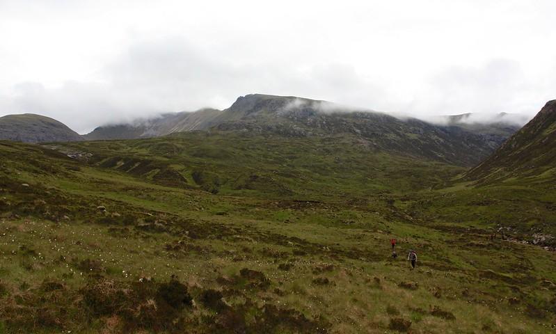 The ridge of Mullach Coire Mhic Fhearchair