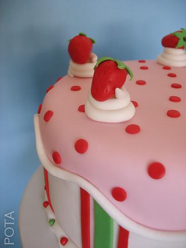Gâteau aux fraises, torta od jagoda