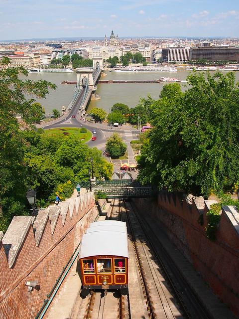 Gellert Funicular, Budapest