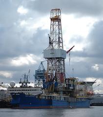port, crane vessel (floating), vehicle, transport, ship, sea, watercraft,