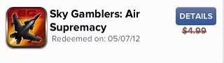 Sky Gamblers:Air