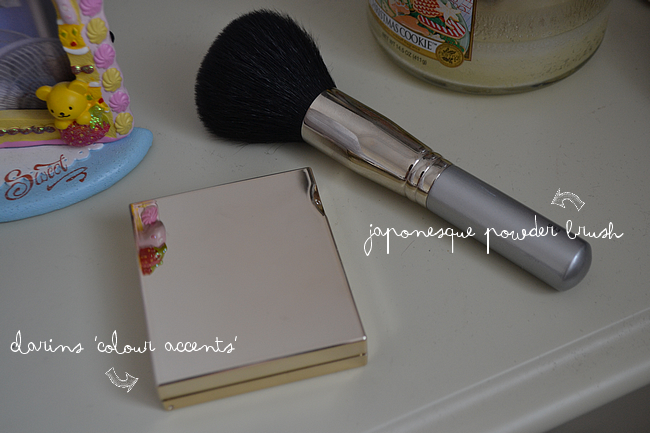 daisybutter - UK Style and Fashion Blog: beauty, make-up, review, clarins colour accents, AW12