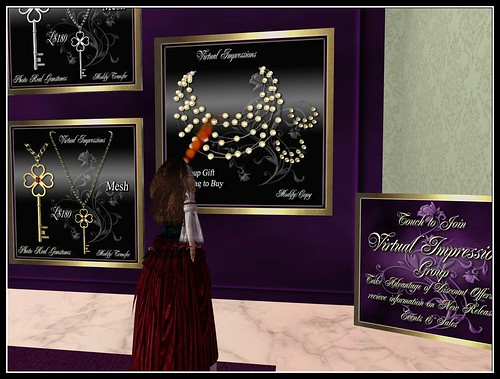 Virtual Impressions ~ Group Gift Danielle in Lemon by Cherokeeh Asteria