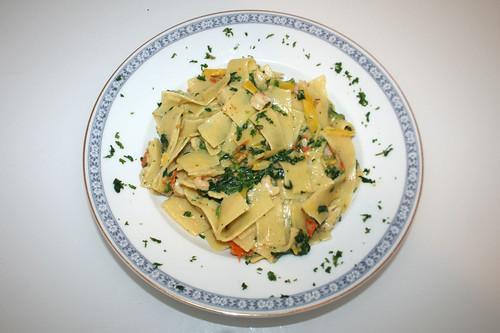 07 - Frosta Fettuccine Fisch & Shrimps / Fettuccine fish & shrimps - Serviert