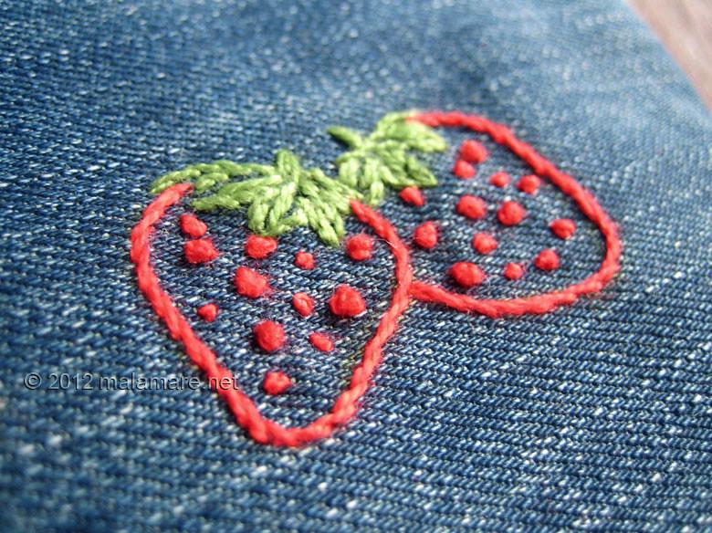 Lastest embroidery french knot stitch makaroka