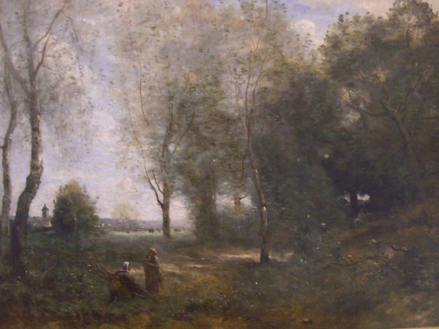Les bûcheronnes (1872), Camille Corot - Musée des Beaux-Arts d'Arras  (62)