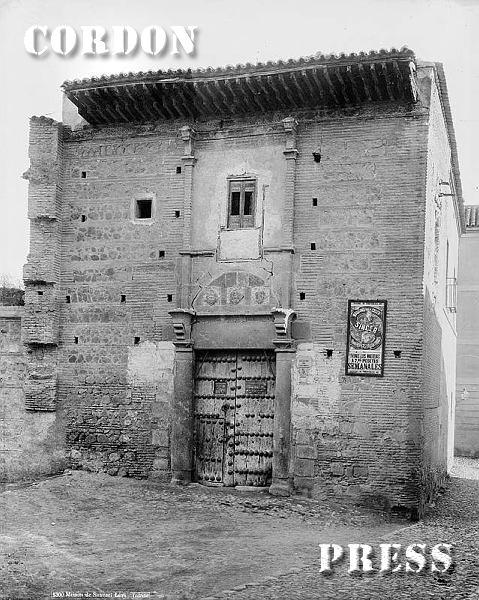 Palacio de Pedro el Cruel en Toledo hacia 1875-80. © Léon et Lévy / Cordon Press - Roger-Viollet