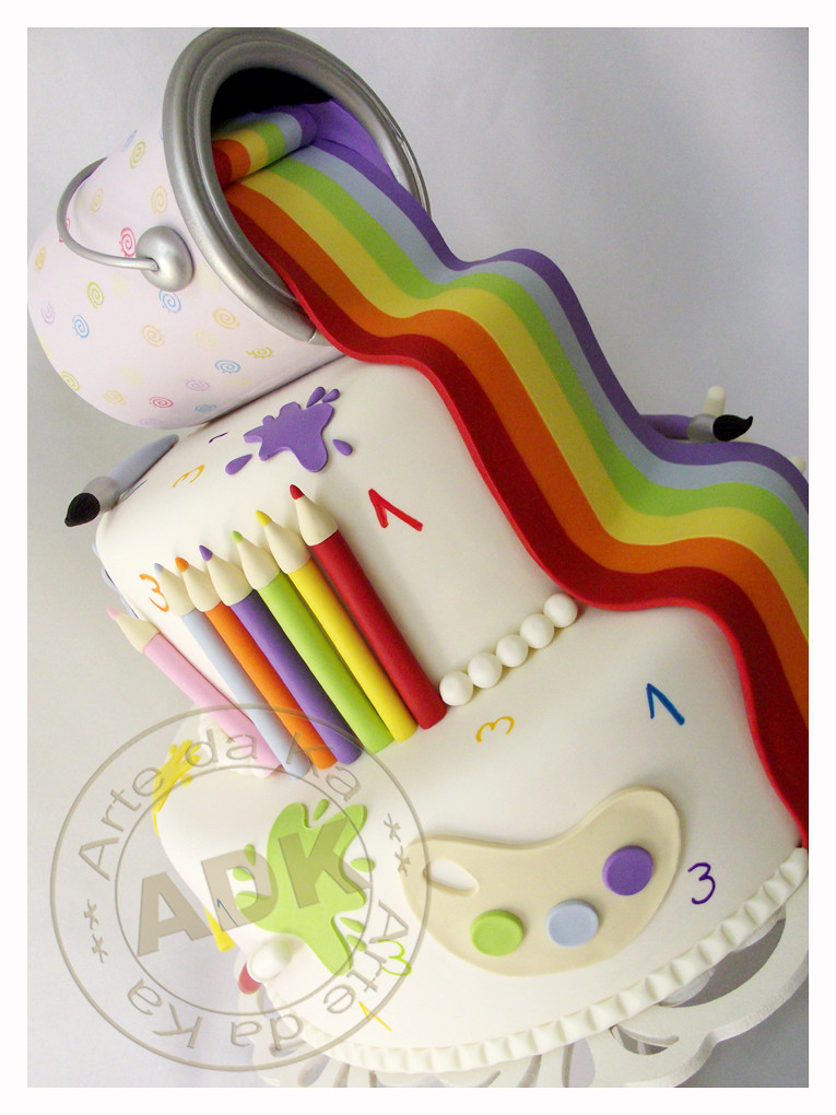Artist Themed Cake : Arte da Ka s most interesting Flickr photos Picssr