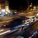Night traffic fury