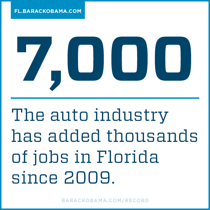 7,000 auto industry jobs added in Florida