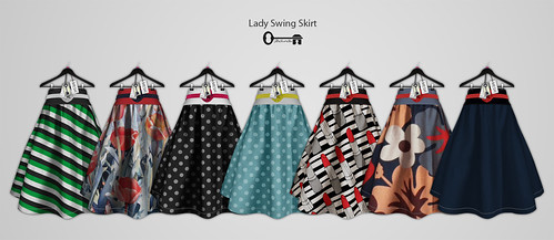 Lady Swing Skirt - Prints