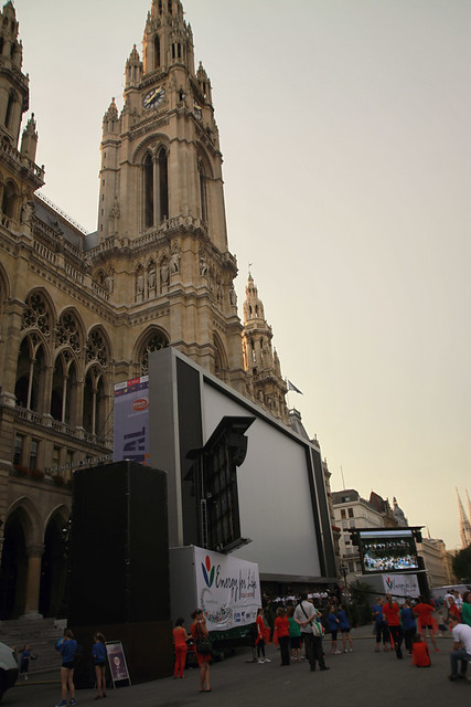 screen at rathaus
