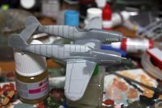 "A-Model ""72217 Bf109Z"" -4"