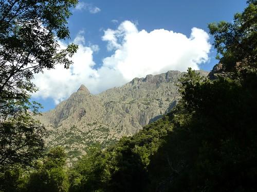 Sur la piste de la Cavicchia : Pinzu Scaffone et Valle Serrata, objectifs du lendemain