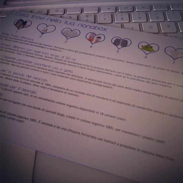 Nonabox domani sul blog :) #pancione #gravidanza #neonato #nonabox #tenditrendy