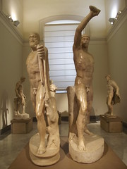 National Archaeological Museum of Naples - Tyrannicide group - Harmodius and Aristogeiton
