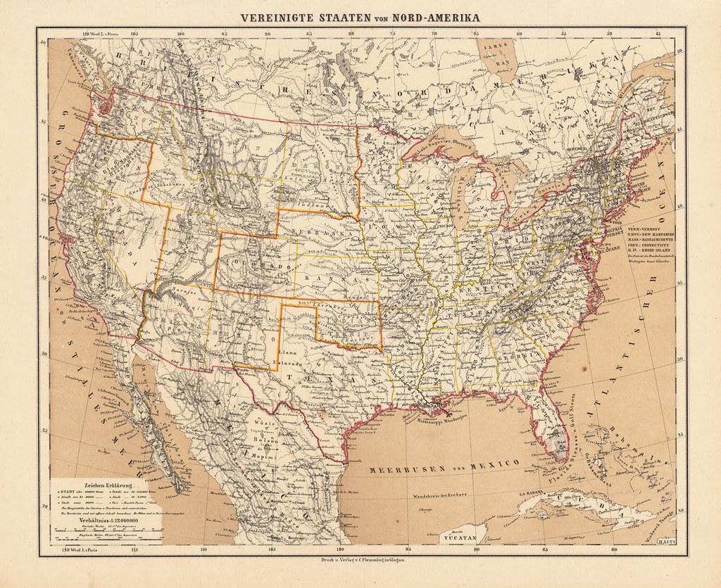 Antique US Maps Online Map