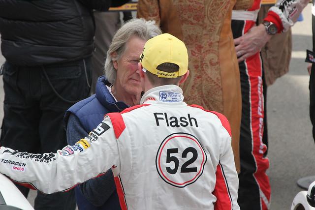 Gordon Sheddon inteviewed after his win in BTCC at Donington Park in April 2012