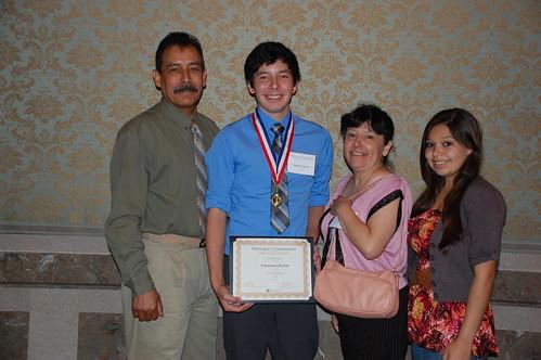 Emmanuel Briseno and family