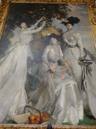 John Singer Sargent painting at Chatsworth
