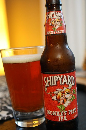 Shipyard Brewery Monkey Fist IPA