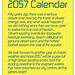 2057 Climate Change Calendar - cover