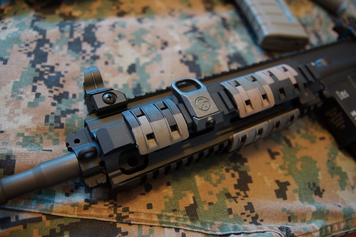 HK 416D with rail covers