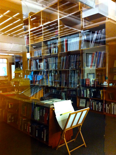 Powell's City of Books - Rare Book Room (Through the Glass)