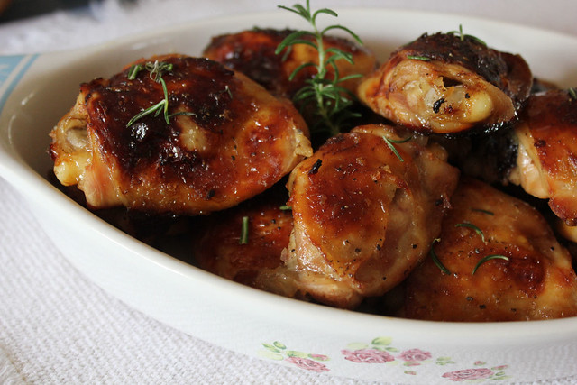 Sweet and Spicy Chicken Thighs