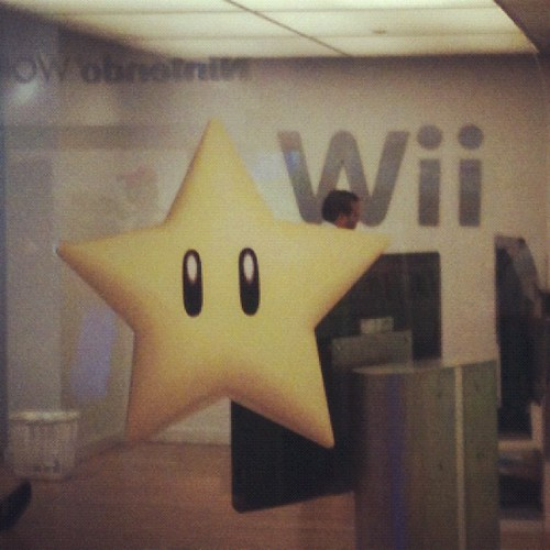 At the Nintendo store in Rockefeller center.